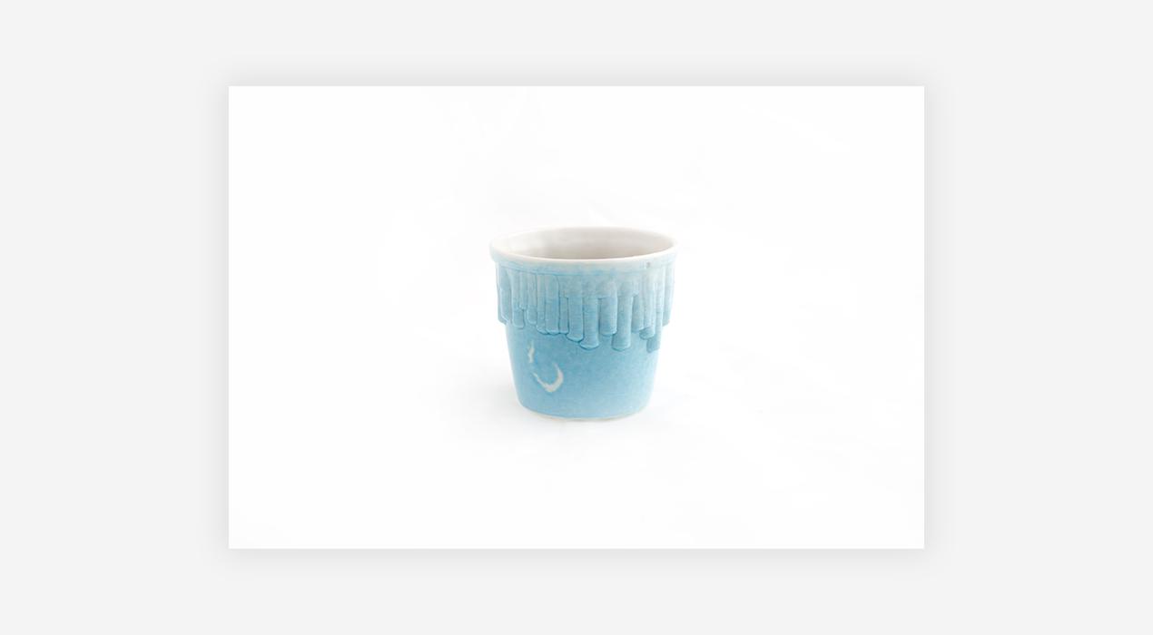 bram van leeuwenstein - Sky Blue Espresso Cup 1